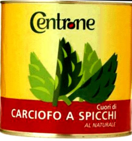 CARCIOFI SPICCHI NAT. CENTRONE 06x03