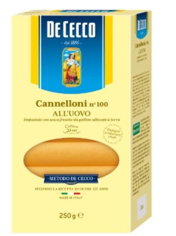 CANNELLONI UOVO 12x0,250