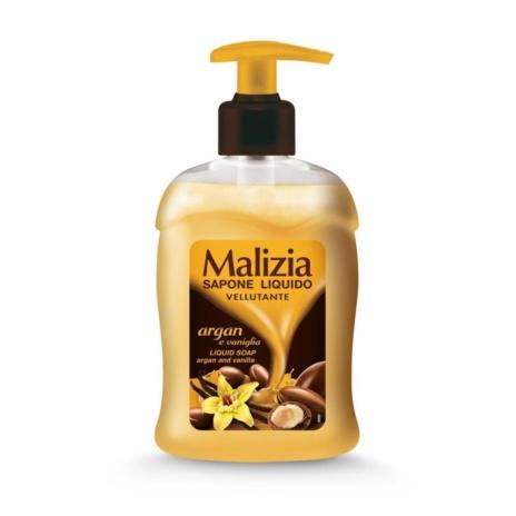 MALIZIA SAPONE LIQUIDO ARGAN & VANIGLIA ML. 300