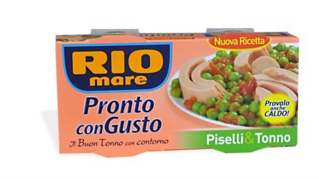 RIO MARE CON PISELLI 160x2x12