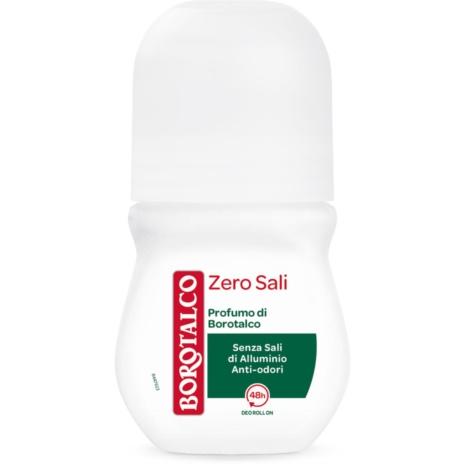 BOROTALCO DEODORANTE  ZERO SALI   R-ON  ML.50