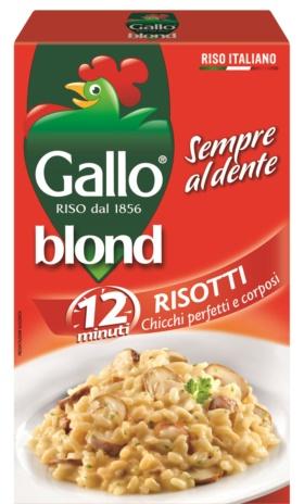 RISO GALLO BLOND KG.1x9