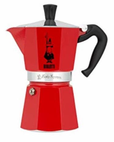 CAFF.MOKA COLOUR ROSSO 06x3tz