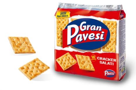CRACKERS PAVESI SALATI 12x0,560