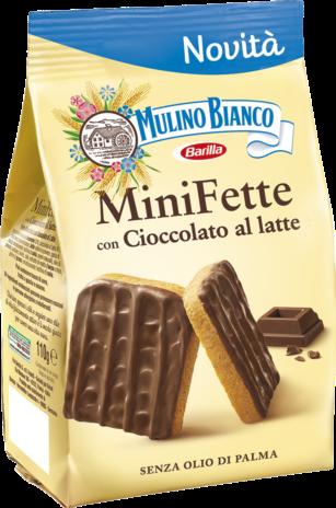 MINI FETTE CIOCCO LATTE 10x0,110