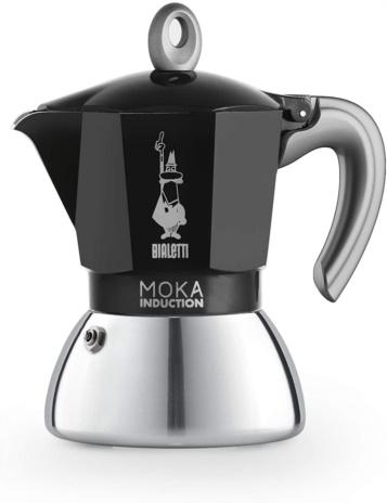 CAFF.MOKA INDUCT BLACK 04x4tz