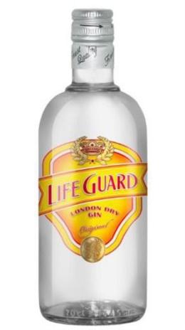 LIFE GUARD LONDON GIN 06x0,700