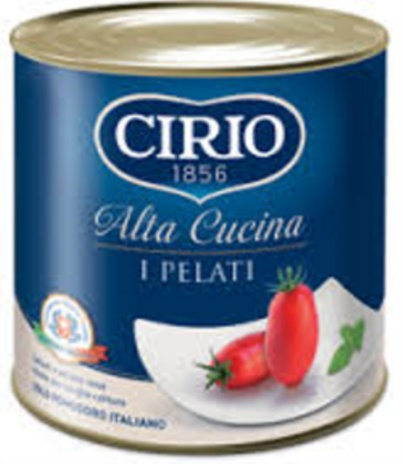 POMODORO PELATI CIRIO ALTA CUCINA 3x3