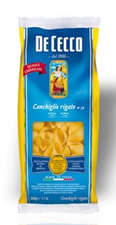 CONCHIGLIE RIGATE N.50 24x0,50