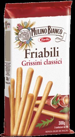 GRISSINI FRIABILI M.B.24x0,300
