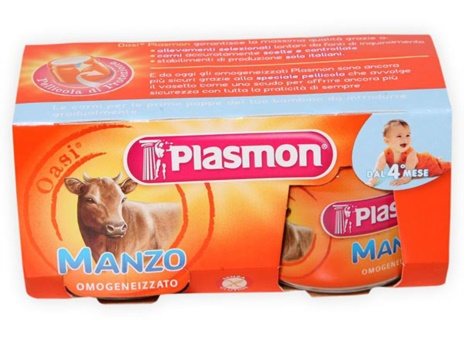 OMO MANZO PLASMON 2x80gr.x12