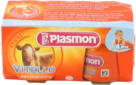 OMO VITELLO PLASMON 2x80gr.x12