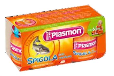 OMO SPIGOLA PLASMON 2x80gr.x12