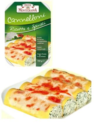 CANNELLONI RIC+SPINACI12x0.350