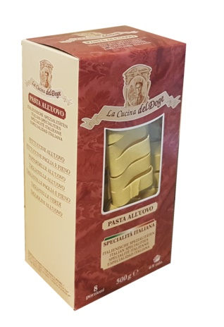 PAPPARDELLE UOVO N.8  10x0.500