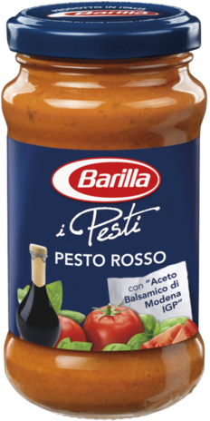 PESTO ROSSO BARILLA 12x0,190