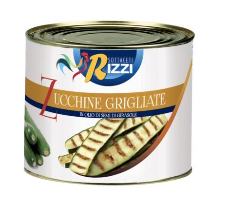 ZUCCHINE GRIGLIATE  06x1,800