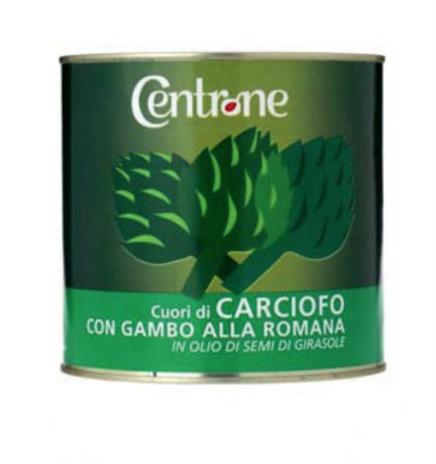CARCIOFI GAMBO ROMANA Kg.3x6