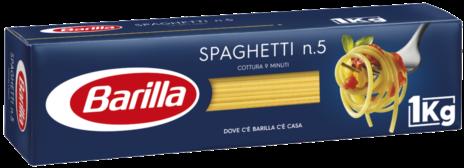 SPAGHETTI BARILLA N.5 Kg.1x18
