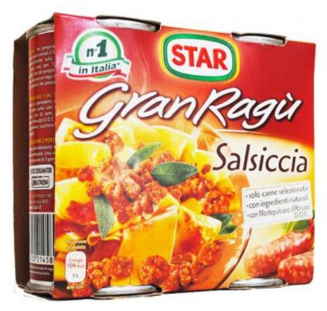 GRAN RAGÚ STAR GR.180x2 x12