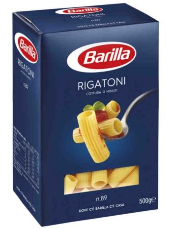 RIGATONI BARILLA N.89 10x0,500
