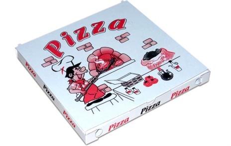 PIZZA BOX CA 33X33X4  PZ 100