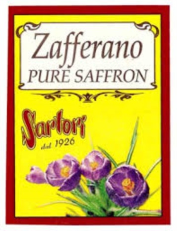 ZAFFERANO SARTORI  GR.0,12x100