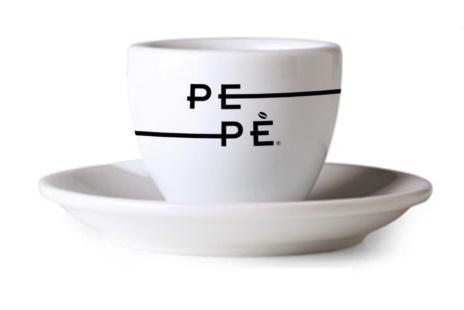 TAZZINE PEPE' CAFFE' 6x1                           Mod.PORTOFINO