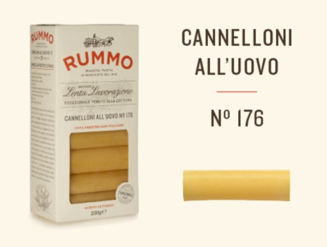 CANNELLONI UOVO N.176 12x0,250