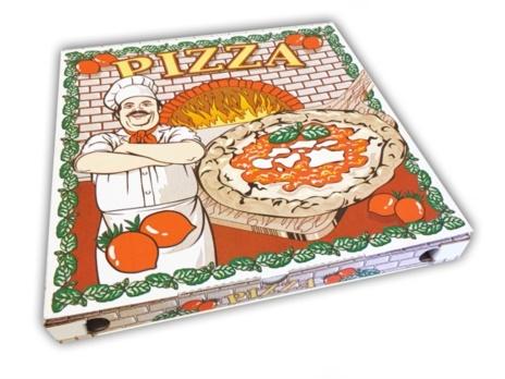 PIZZA BOX CA 30X30X4  PZ 100