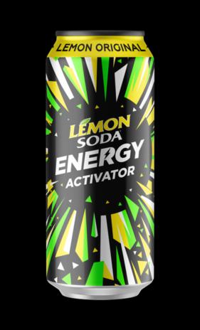 LEMONSODA ENERGY ORIGINAL 12x0,330